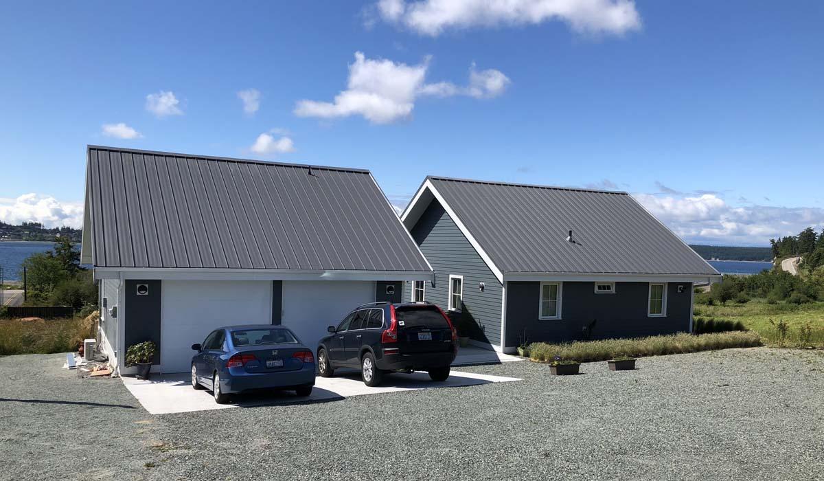 Strickland Garage & House from NNE 300