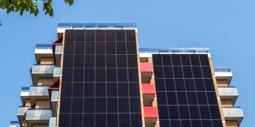 Offset Embodied Carbon With Solar Panels