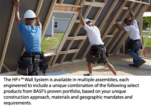 BASF HP Wall System
