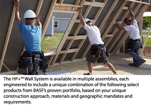 BASF HP Wall System