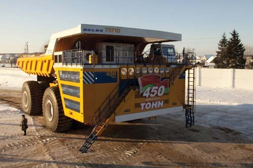 World's Largest Dump Truck is electric