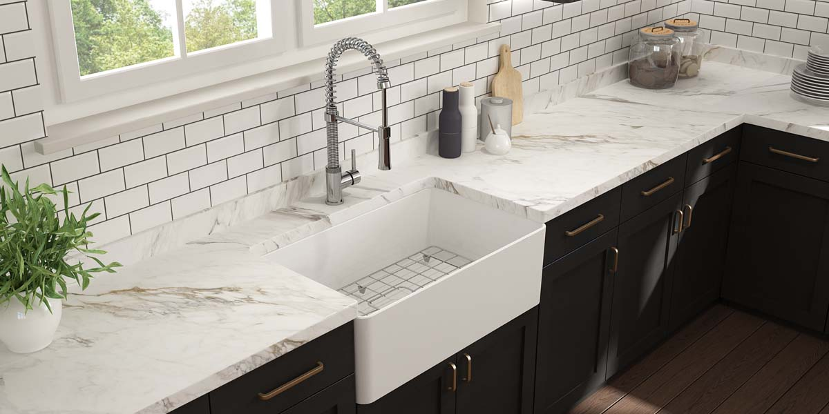 Apron-Front Sink Stuns With Ultra-Thin Walls