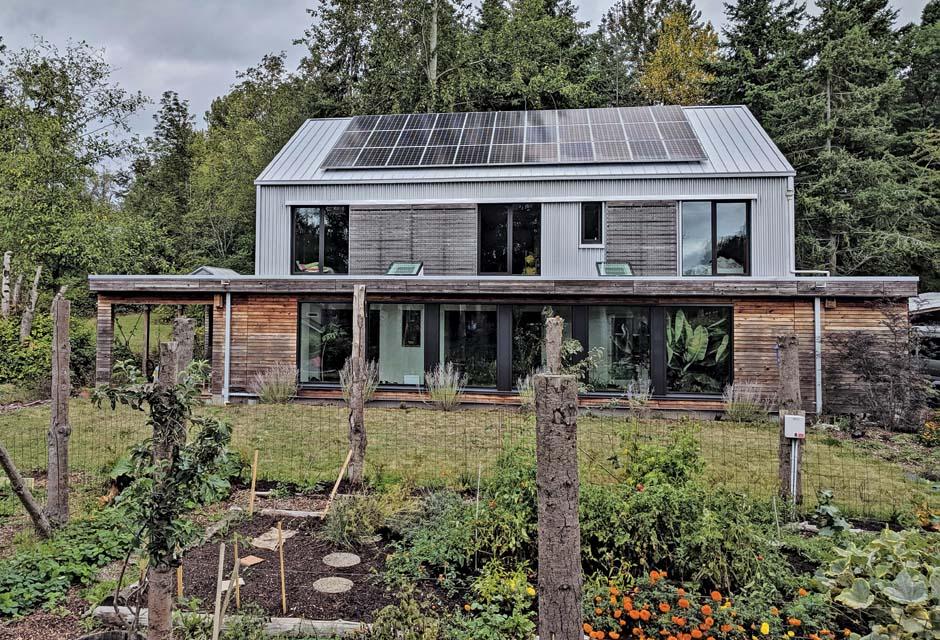 Bellingham, Washington Home is Zero Energy, Zero Water and Zero Sewer