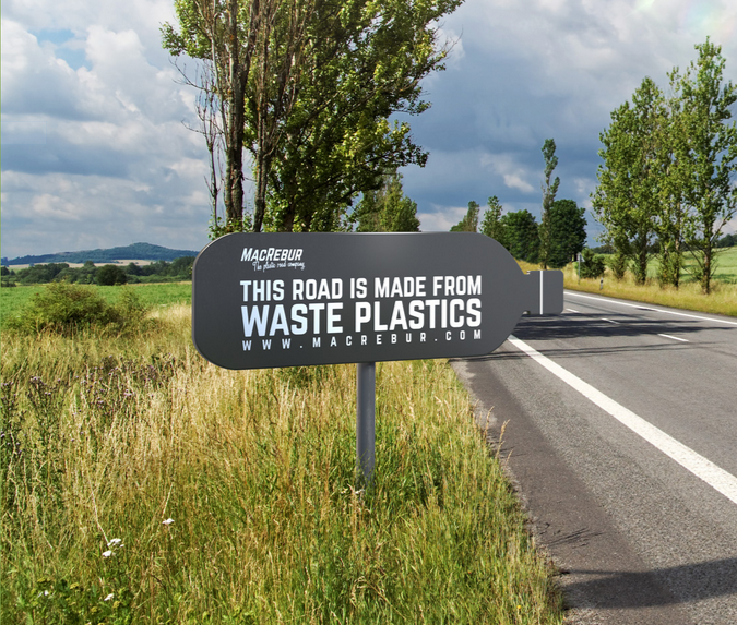 New Types of Recycled Plastic Roads Could Make Polymer Driving