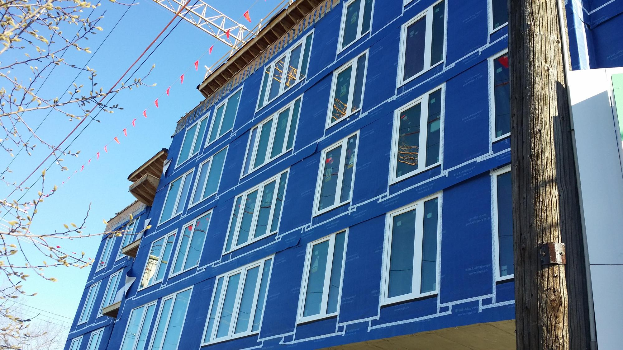 The Heights: Canada's Largest Passive House Project under Construction in Vancouver