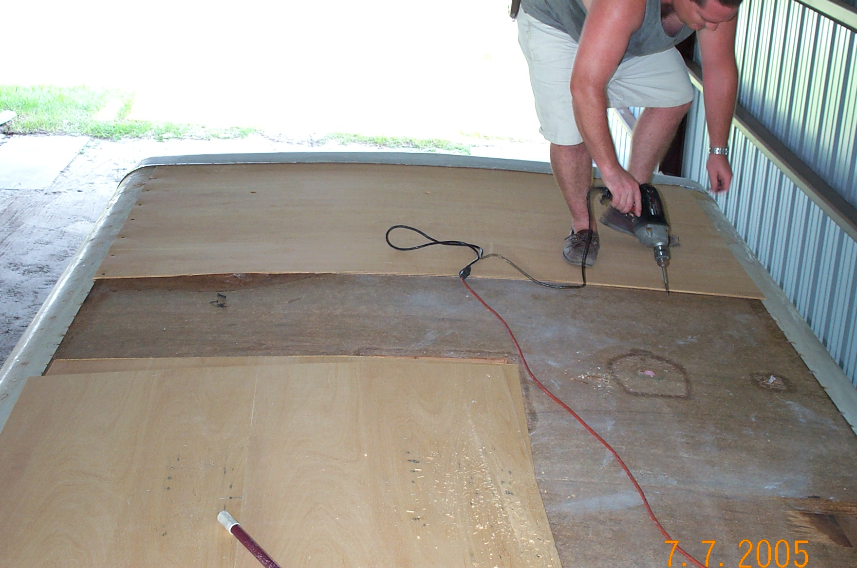 Replacing Your Rv Roof Insist On Formaldehyde Free Luan