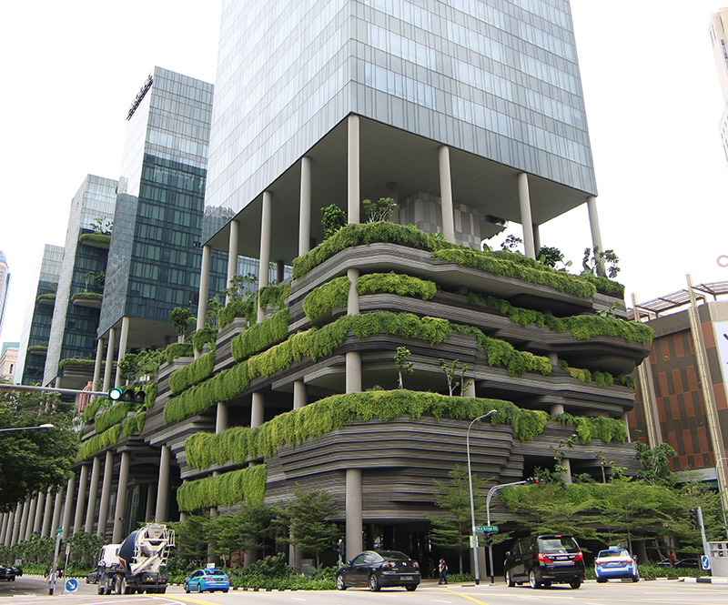 Green Spaces in Singapore