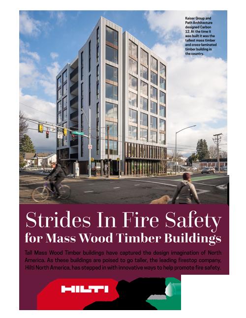 Strides in Fire Safety