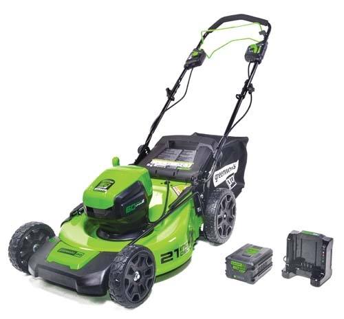 Flex House - Greenworks_60V_mower