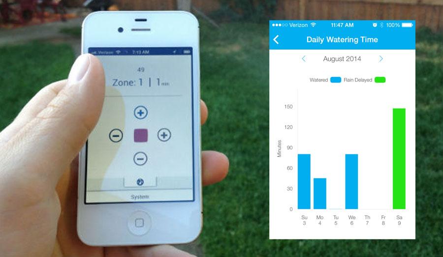 Rachio Smart Irrigation Smartphone App