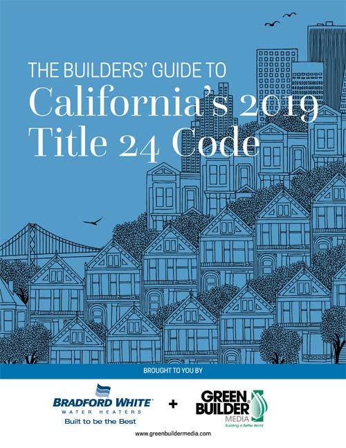 California's 2019 Title 24 Code
